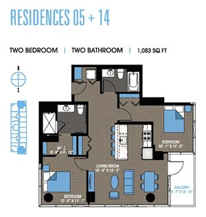 Two Bedroom 05+14