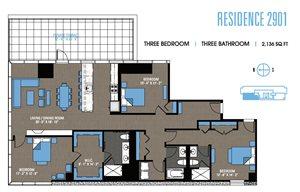 Three Bedroom Penthouse 2901