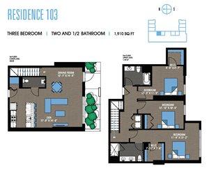 Three Bedroom 103