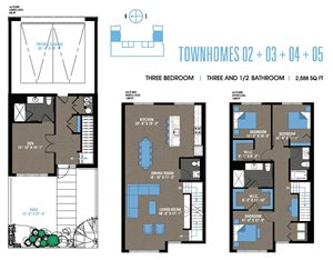 Townhome 02+03+04+05