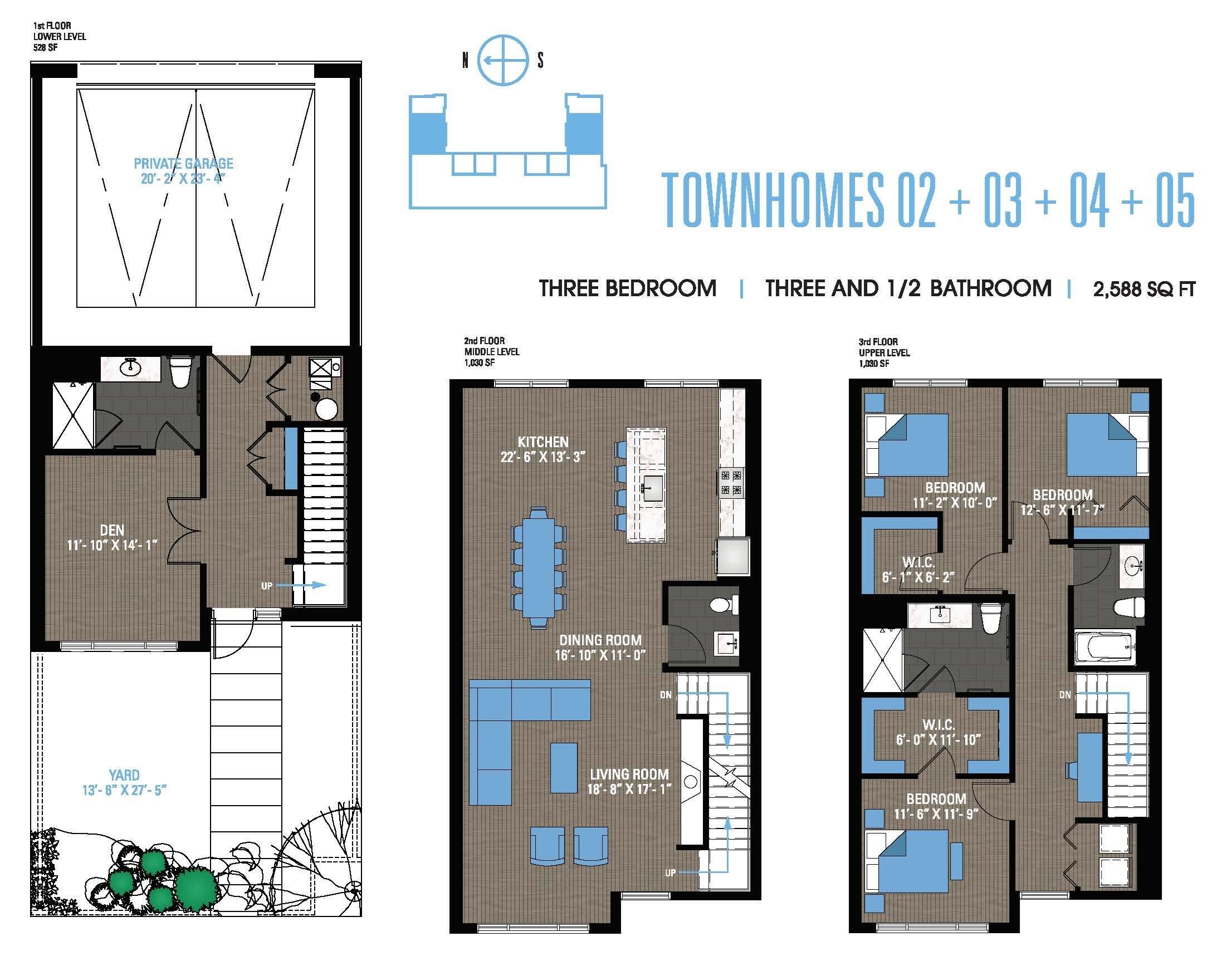 Townhome 02+03+04+05 Floor Plan 17