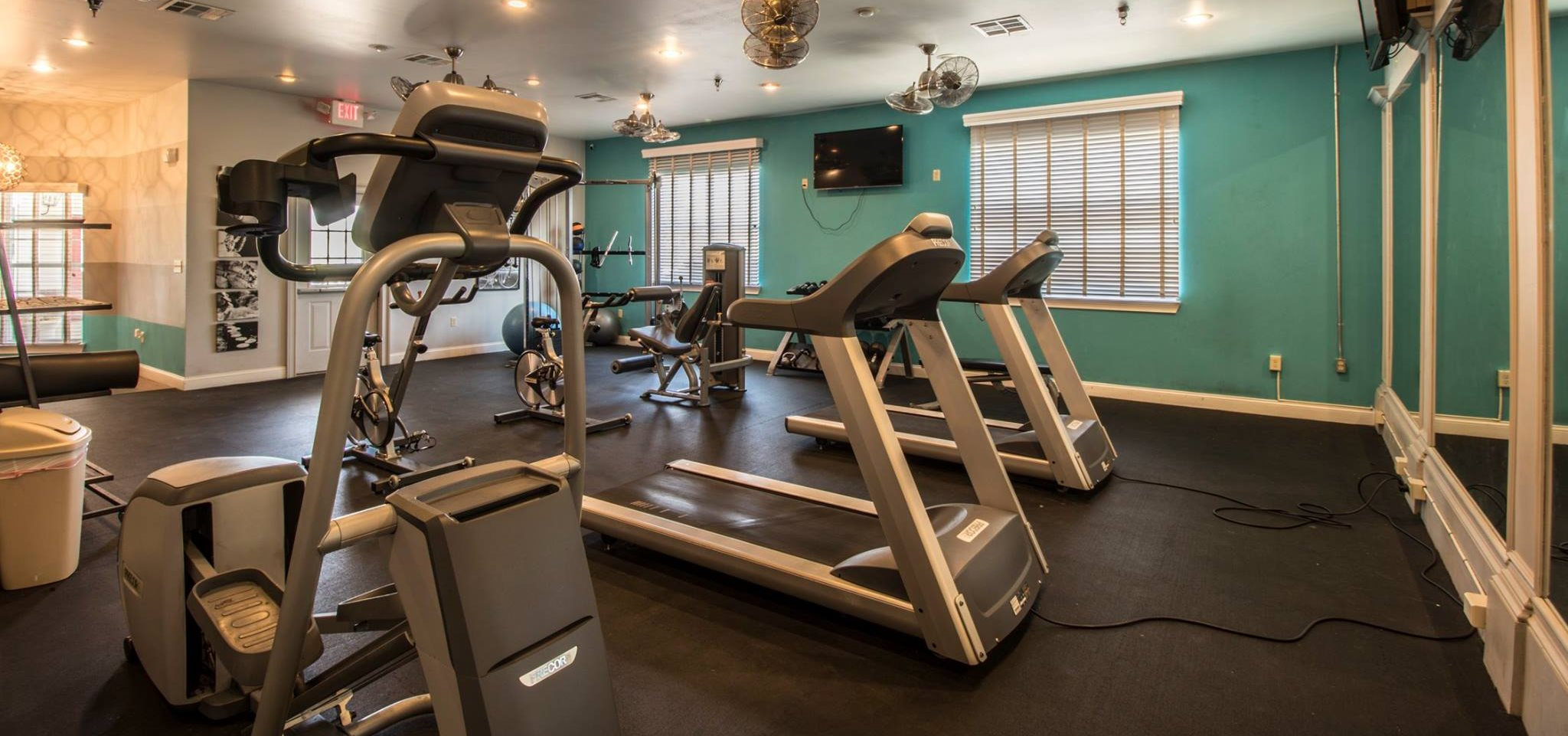 Fitness Center at River Ranch Apartments in San Angelo TX