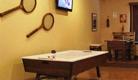 Air hockey table at Apartments in San Angelo