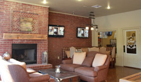 Clubhouse at River Ranch Apartments in San Angelo, TX