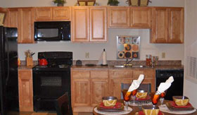 Kitchen of Apartments in San Angelo