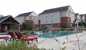 Apartments in San Angelo with outdoor pool