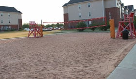 Sand Volleyball at Apartments in San Angelo