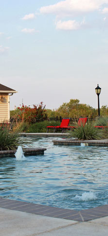 Pool at River Ranch Apartments in San Angelo, TX