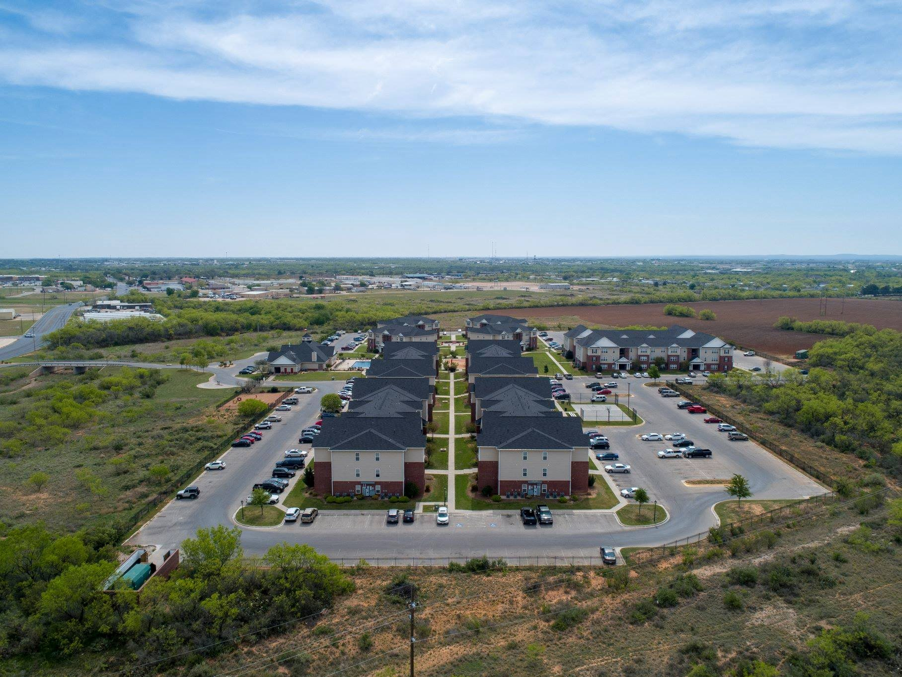 Apartments in San Angelo TX Arial2