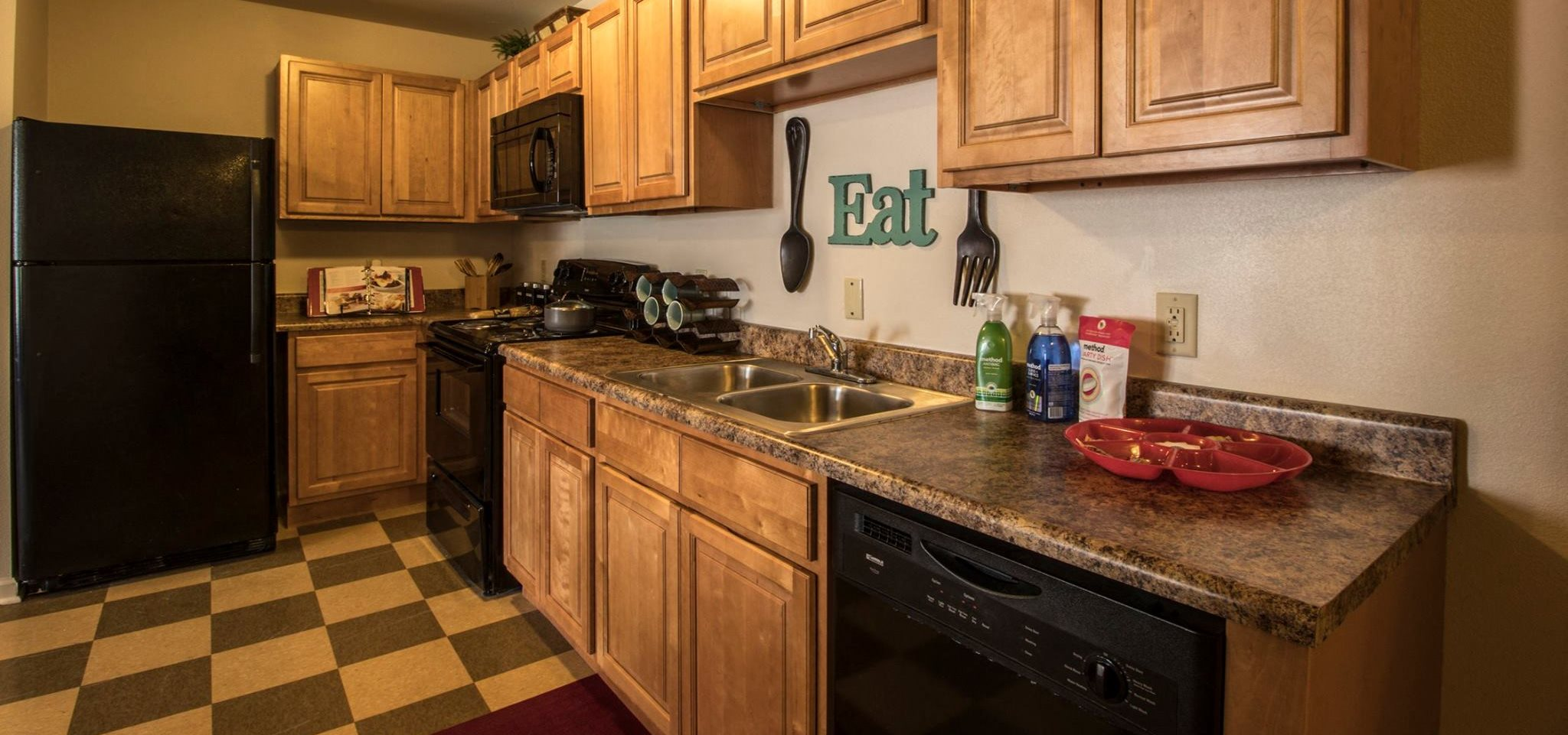 Apartments in San Angelo TX Kitchen