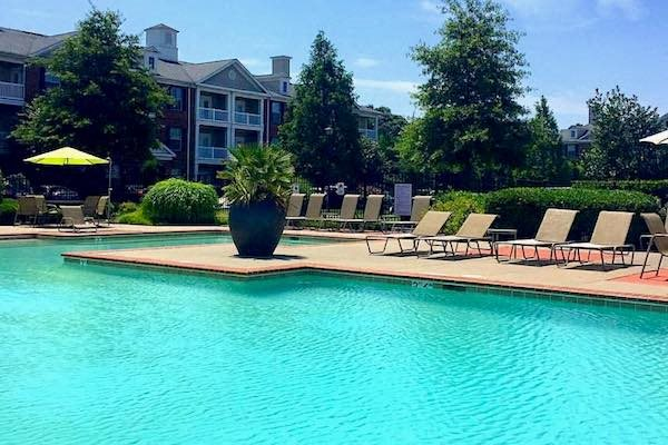 Centerville Manor Apartments Virginia Beach, VA 23464 swimming pool with lounge furniture