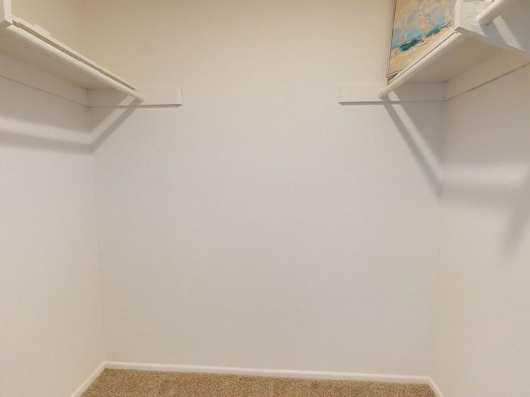 Newport Village Apartments | Costa Mesa, CA | Walk-in Closet