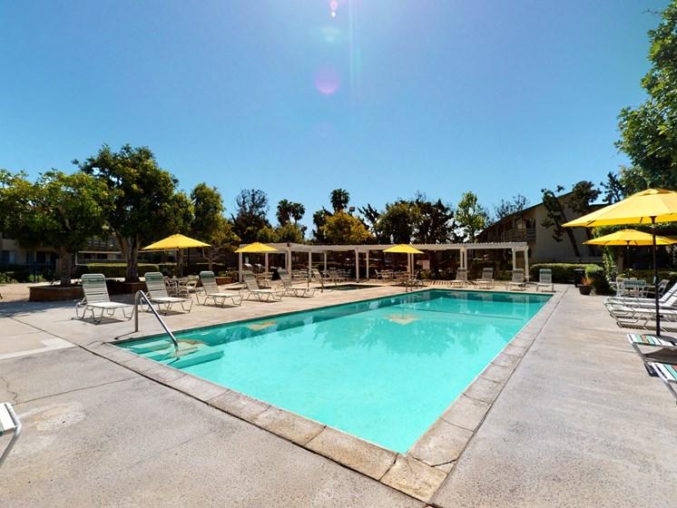 Newport Village Apartments | Costa Mesa, CA | Pool Area