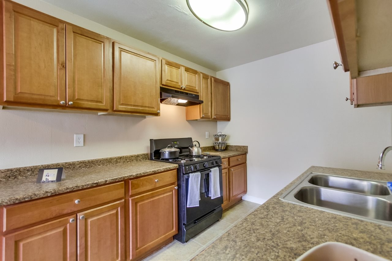 Kitchen at Atrium At West Covina, West Covina, CA, 91791