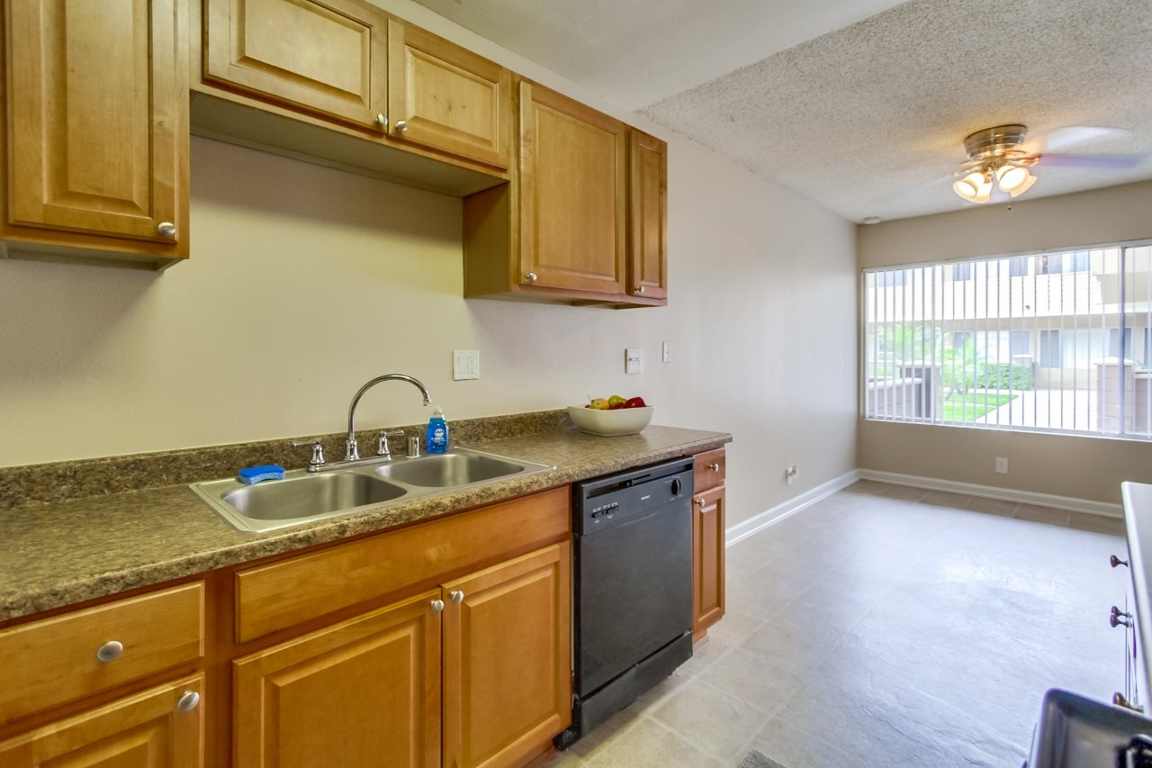Kitchen at Atrium At West Covina, California