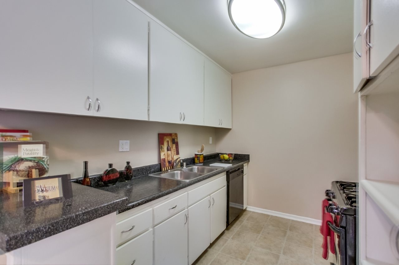Kitchen at Atrium At West Covina