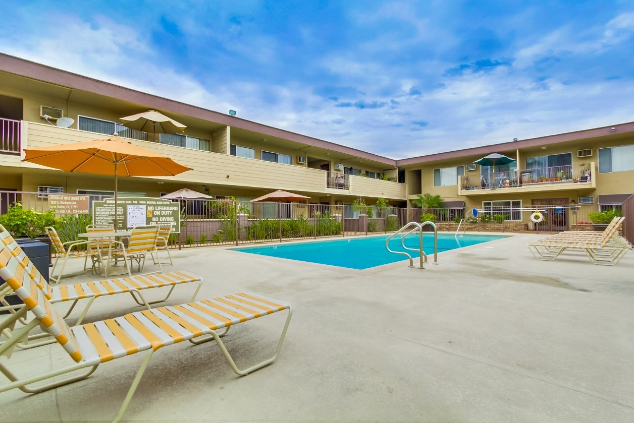 Pool at Atrium At West Covina, CA