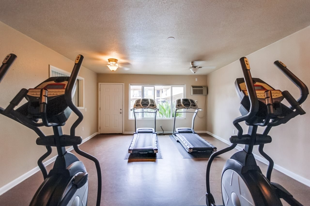 Fitness Center at Atrium At West Covina, California