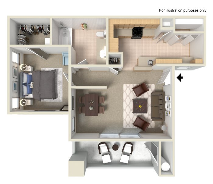 1 & 2 Bedroom Apartments in Tracy, CA | Waterstone ...