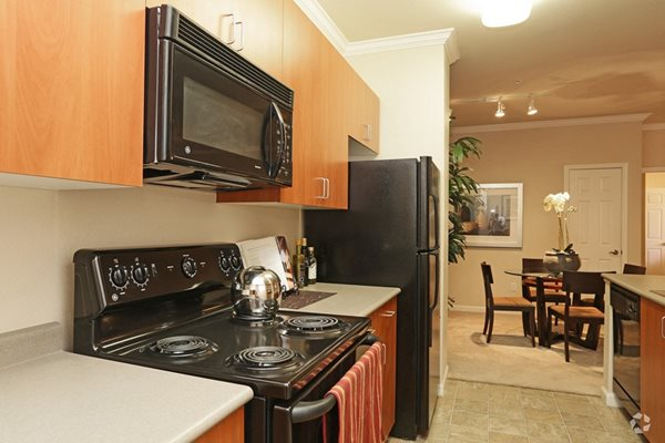 Full kitchens, energy efficient modern appliances,