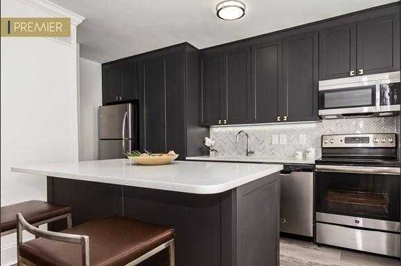 a13 3br kitchen - Garden Court Apartments