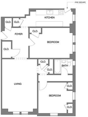 Two Bedroom D