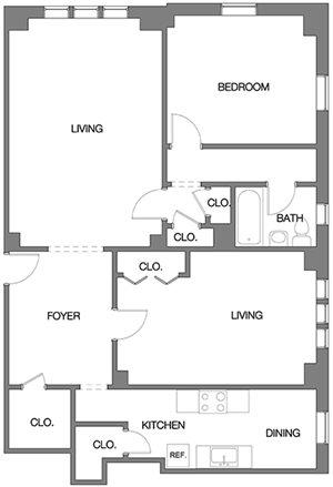 Two Bedroom J