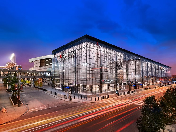 Local Sporting Venues Located Nearby, at Reserve Square, Cleveland, OH