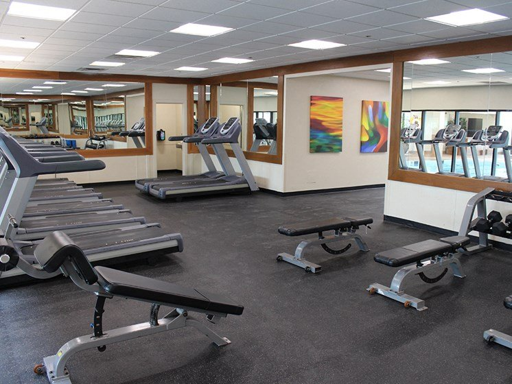 Fitness Center With Weight Room, at Reserve Square, Cleveland, OH