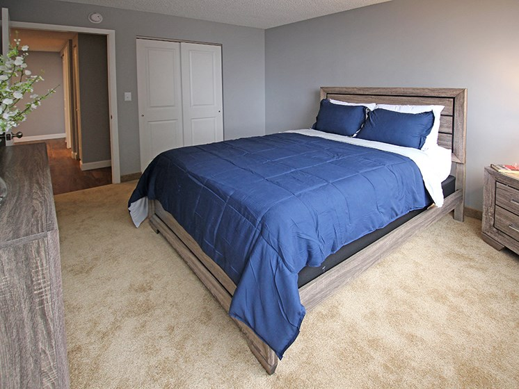 P3 Elite Model with Newly Carpeted Bedrooms, at Reserve Square, Cleveland, OH