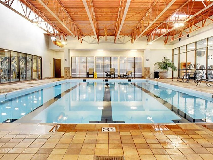 Heated Indoor Swimming Pool, at Reserve Square, Cleveland, OH