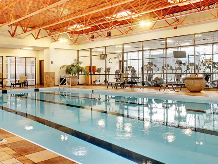 Olympic Size Swimming Pool, at Reserve Square, Cleveland, 44114