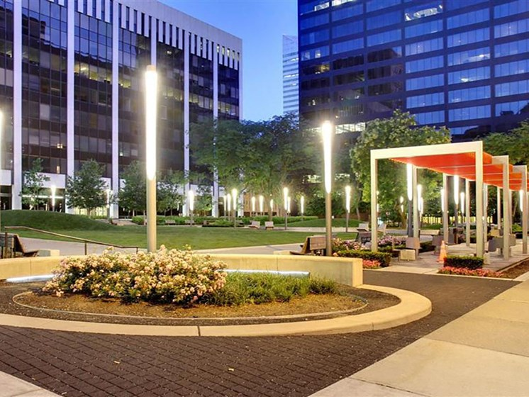 Beautiful surrounding, at Reserve Square, Cleveland, OH 44114
