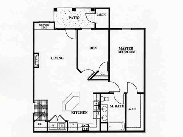 Floor Plans Of Pond Edge Apartments In Delmar, MD