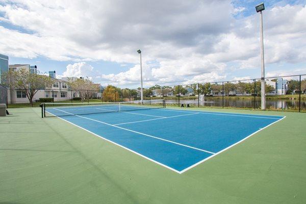 Ashford at Feathersound's Tennis Court