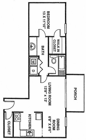 1 Bedroom South A1
