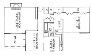 1 Bedroom Gardens A7