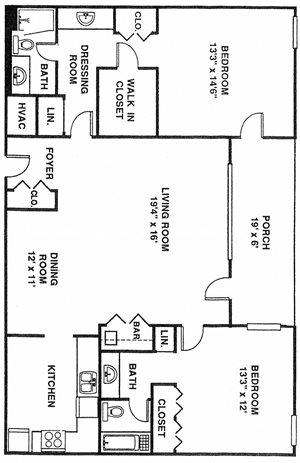 2 Bedroom NewMid B3