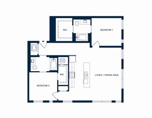 The beacon at south market apartments 1000 girod st new - 2 bedroom apartments in new orleans east ...