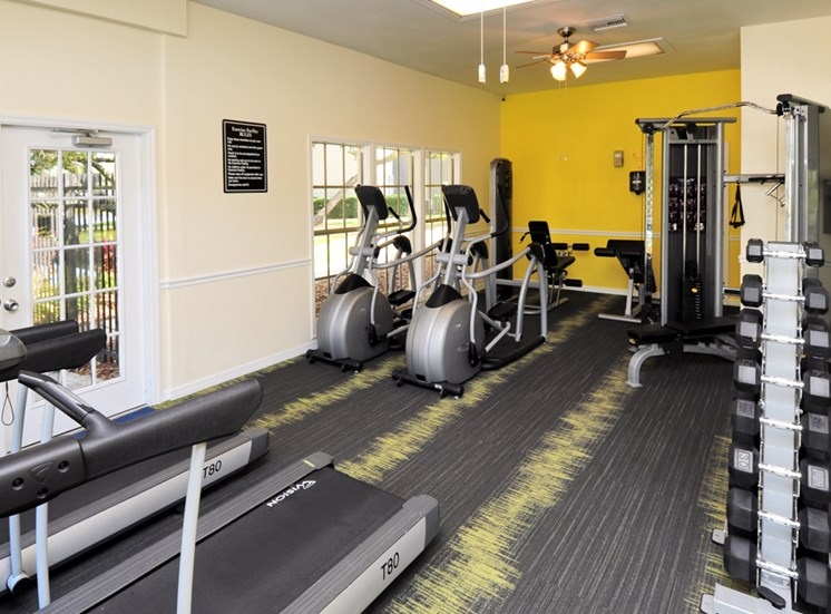 fitness center | Avesta Bay Crossing Apartments Tampa, Fl