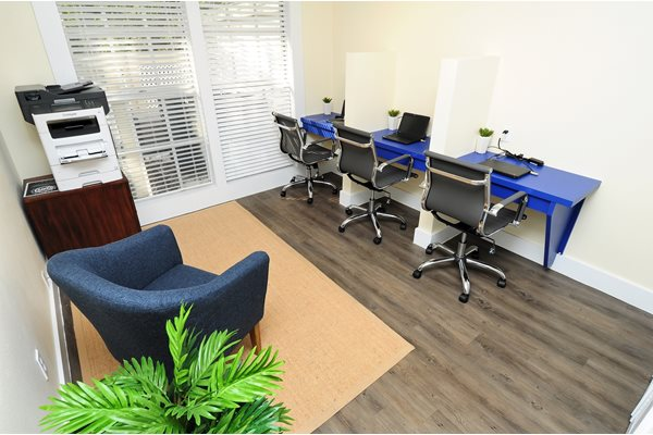 Business Center | Avesta Bay Crossing Apartments Tampa, Fl