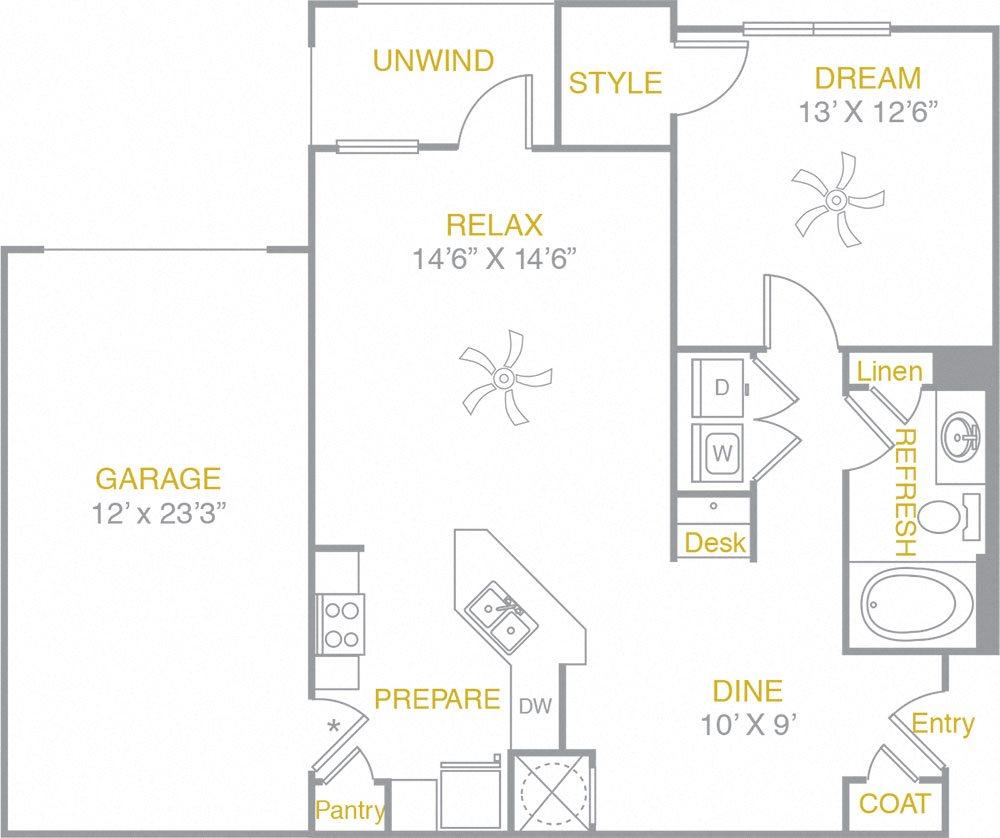 A1 garage Floor Plan 1