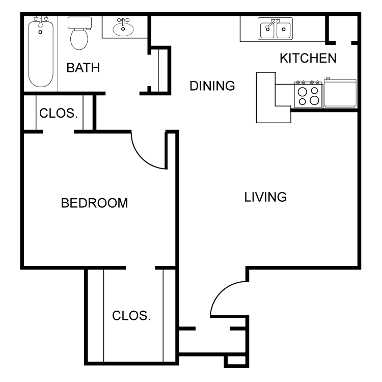 The Bowie Floor Plan 2