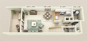 Lakewood Villas 1 Bedroom Standard 1st Floor