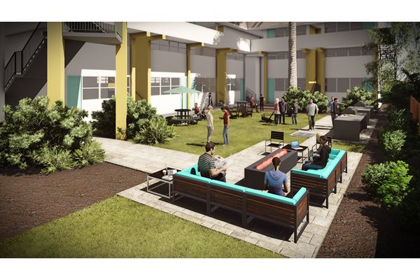 The Courtyards Apartments - Student Housing in Gainesville, FL