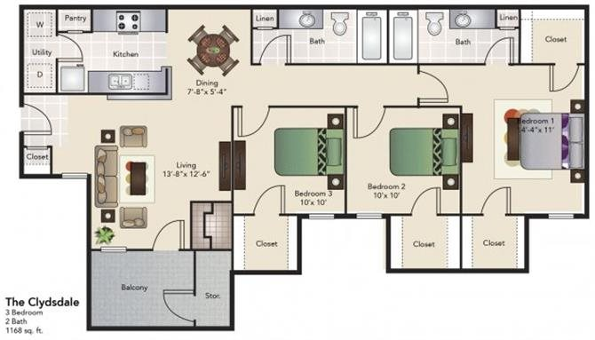 The Clydsdale Floor Plan 5