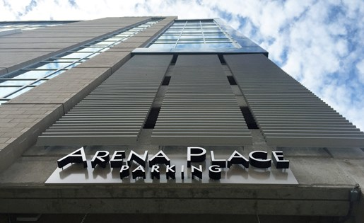 Downtown Grand Rapids Parking Arena Place Apartments