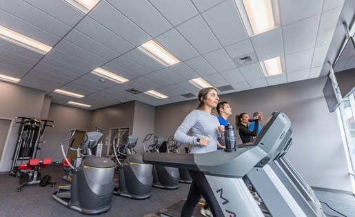 Fitness Center at Arena Place Apartments