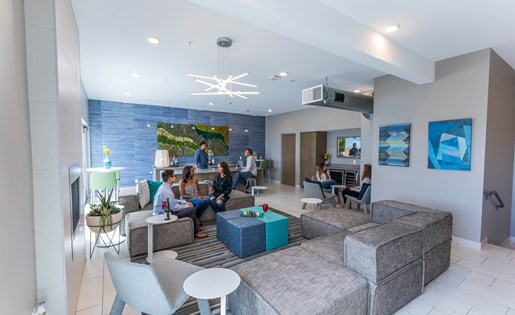 Arena Place Apartment Resident Lounge