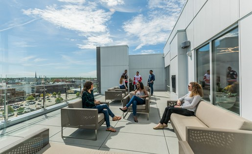 Rooftop Lounge in Grand Rapids